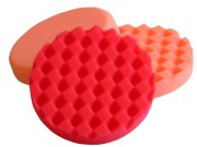 Red Waffle Polishing/Finishing Pad 150mm