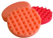 Orange Waffle Polishing Pad 150mm