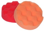 Orange Waffle Polishing Pad 80mm