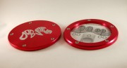 Dodo Juice Tax Disc Holder - Red